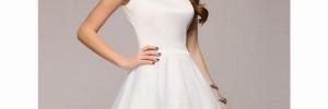 Белое платье уместно на любом празднике