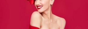 Гвен Стефани перевоплотилась в Мэрилин Монро в рождественском клипе