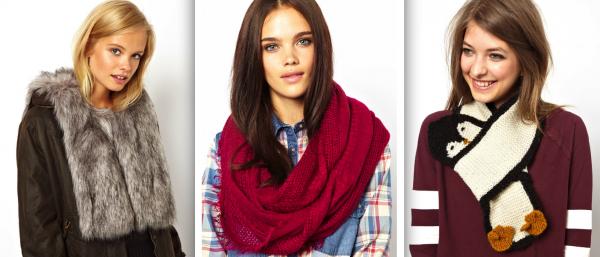 Женские шарфы на шею