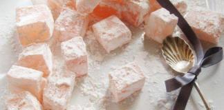 Восточные вкусности: рецепт рахат-лукума