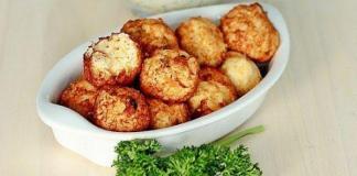 Недорогие блюда в кляре: шарики во фритюре