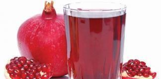 Гранатовый сок при язве