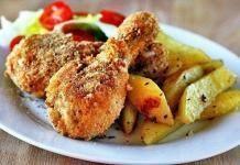 Как приготовить курицу как в Ростиксе?
