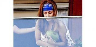 Растолстевшая леди Гага топлесс: целлюлит, растяжки. Фото