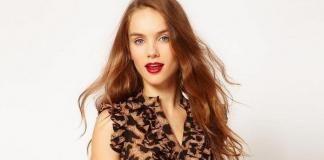 Леопардовое платье с чем носить