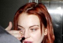 Линдси Лохан покрасилась в рыжий и постарела