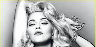 Фото Мадонны топлесс: обнаженная реклама в 54