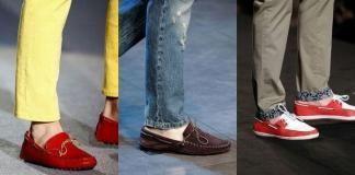 Модная мужская обувь весна-лето 2012