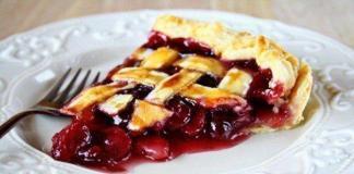 Вкусный и полезный рецепт вишневого пирога