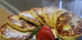 Рецепт приготовления сырников из творога