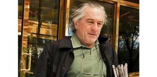 Роберт Де Ниро стал бездомным после пожара