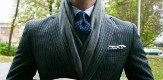 Стиль начинается с мелочей: как носить мужские шарфы