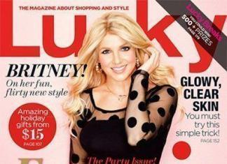 Бритни Спирс носит парик? Фото с обложки журнала Lucky