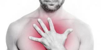 Боль в грудной клетке при вдохе