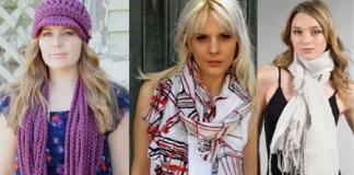 Модные женские шарфики оптом