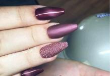 """Маникюр """"кошачий глаз"""": лучшие идеи модного дизайна ногтей 2018"""