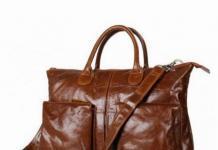 Мужские деловые сумки и портфели