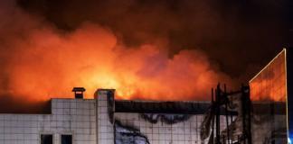 В Кемерово при пожаре погибли 56 человек