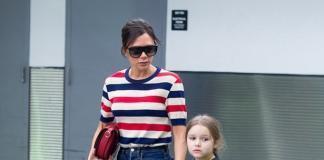 Пришлось успокаивать: дочь Виктории Бекхэм устроила сцену в аэропорту (ФОТО)