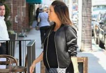 Беременная Ева Лонгория в платье и с сумкой от Chanel была замечена на шопинге (ФОТО)