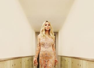 LOBODA показала фото в прозрачном платье с памятного вечера, когда официально подтвердила беременность