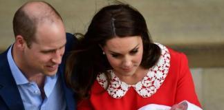 Кейт Миддлтон и принц Уильям озвучили имя новорожденного сына