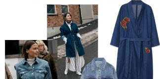 Четыре образа с джинсовой курткой на весну из Street style