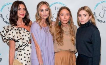 Как в детстве: сестры Олсен надели похожие наряды на Youth America Grand Prix's 2018