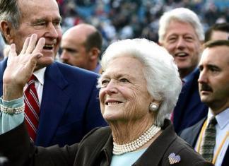 Умерла Барбара Буш: бывшая первая леди США скончалась на 93-м году жизни