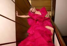 Образ дня: Вера Брежнева в огромном розовом платье (ГОЛОСОВАНИЕ)