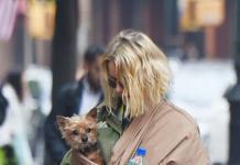 Лайфхак от Наоми Уоттс: как правильно гулять с собачкой