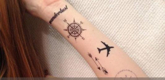 35 лучших идей тату для тех, кто любит путешествовать