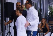 На спорте: Дженнифер Лопес и Алекс Родригес были замечены на тренировке (ФОТО)