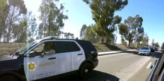 Полиция устроила погоню за машиной Адама Левина и Джеймса Кордена