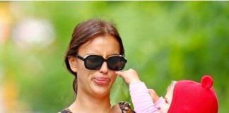 Ирина Шейк показала дочь – угадайте, на кого она похожа