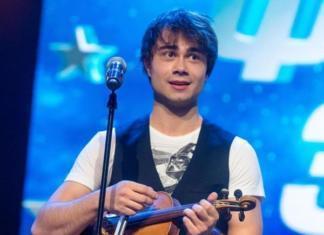 """На """"Евровидении"""" нет конкуренции? Александр Рыбак сыграл на скрипке песню ALEKSEEV"""