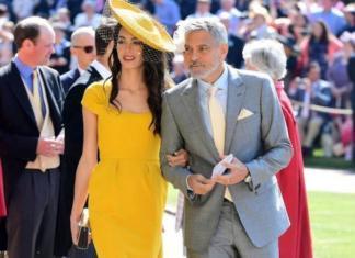 В Сеть попали первые фото детей Джорджа и Амаль Клуни