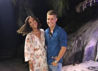 Ольга Бузова и Роман Гриценко слились в страстном поцелуе (ФОТО)