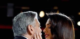 Амаль Клуни поддержала мужа нежным поцелуем на премии AFI Life Achievement (ФОТО)