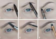 Как красить брови: пошаговое оформление и новые техники