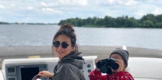 Ани Лорак с мужем и дочерью устроила отдых на яхте (ФОТО)