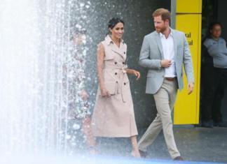 Меган Маркл и принц Гарри отправятся в тур по Америке