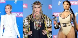 MTV Video Music Awards: Блейк Лайвли, Ники Минаж, Мадонна и другие звезды на красной дорожке премии (ФОТО)