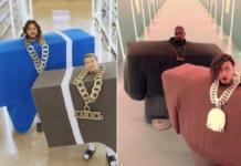 Извинение за Ibiza: Филипп Киркоров и Николай Басков сняли пародию на клип Kanye West & Lil Pump
