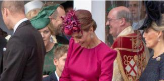 Кейт Миддлтон опять получит втык от Елизаветы за мини-юбку