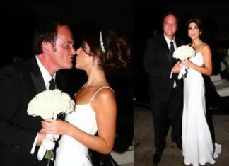 Заядлый холостяк Квентин Тарантино впервые женился!