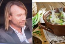 Еще и кулинар: Олег Винник поделился рецептом вкусной ухи