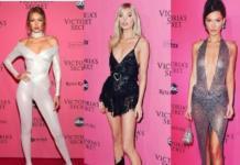 """Сестры Хадид, Кэндис Свейнпол и другие: """"ангелы"""" Victoria's Secret блеснули на афтепати (ФОТО)"""
