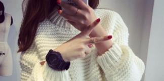 Теплые женские свитеры