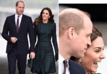 Кейт Миддлтон и принц Уильям прибыли с визитом в Шотландию (ФОТО)